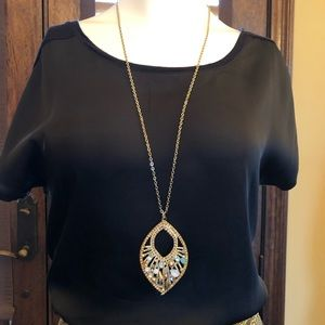 Jewelry - Crystal Drop Necklace